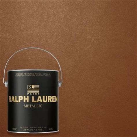 ralph 1 gal copper luster gold metallic specialty finish interior paint me141 the home