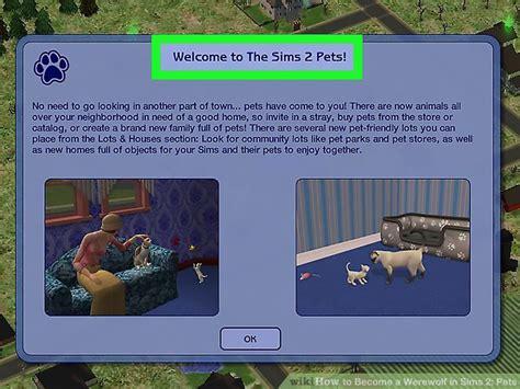 werewolf  sims  pets  steps