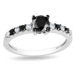 black white engagement ring engagement rings review