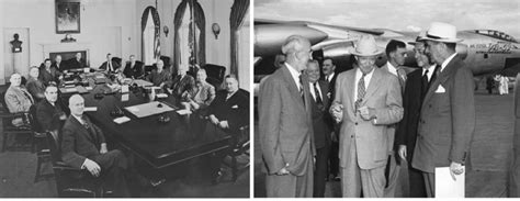 Dwight Eisenhower Cabinet Members by President Harry S Truman Meeting With His Cabinet In 1949