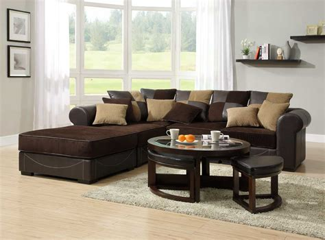 floor l living room l shape sofa with cream and brown cushions placed on the