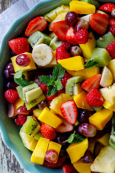 m s fruit salad summer fruit salad with lime mint dressing simply delicious