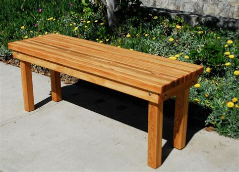 bench outside patio benches