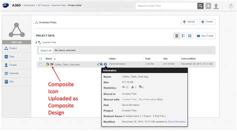 c composite pattern multiple types composite design linked files autodesk community