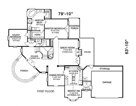 Pie Shaped House Plans House Plan 93034 At Familyhomeplans