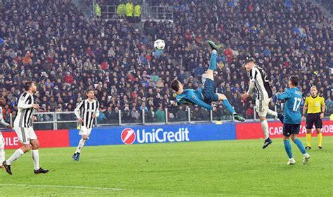 ronaldo juventus 2018 goal juventus 0 real madrid 3 cristiano ronaldo goal secures win football sport