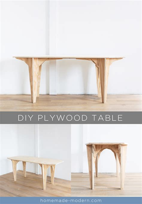 modern ep110 plywood table