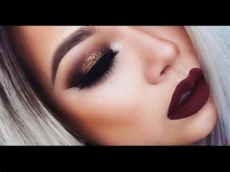 imagenes de ojos maquillados maquillaje de noche para fiesta labios ojos etc