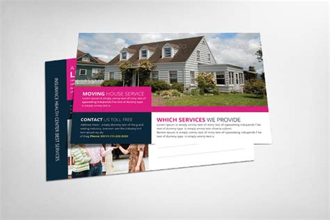 realtor cards template 18 real estate postcard templates free sle exle