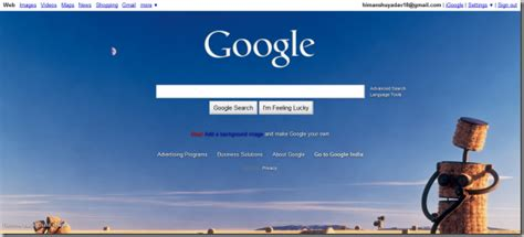 google wallpaper settings how to add background wallpaper to google homepage