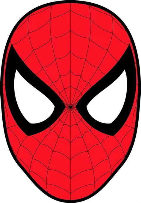 spiderman head pattern homem aranha atividades pinterest