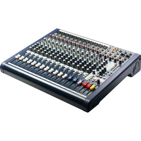 Audio Mixer Linkmaster 12 Channel 12 Ch Mono soundcraft mfx12 12 channel recording mixer rw5762us b h photo