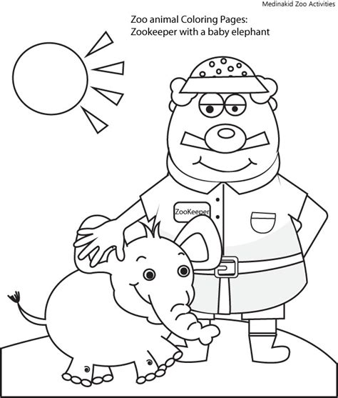 coloring page of zookeeper 86 zookeeper coloring page pet rock coloring page