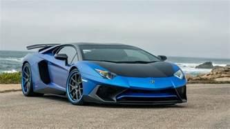 blue lamborghini car widescreen wallpaper 59994 5120x2880
