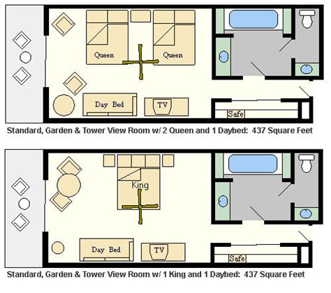 Disney Contemporary Resort Hospitality Suite Floor Plan - disney disney s contemporary resort one of the top