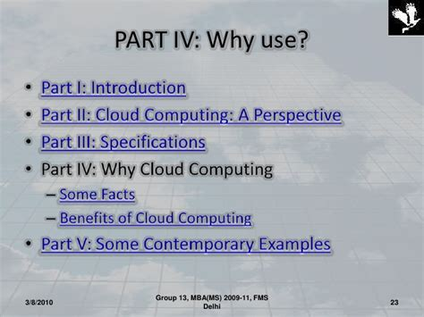 Fms Part Time Mba Fees by Cloud Computing