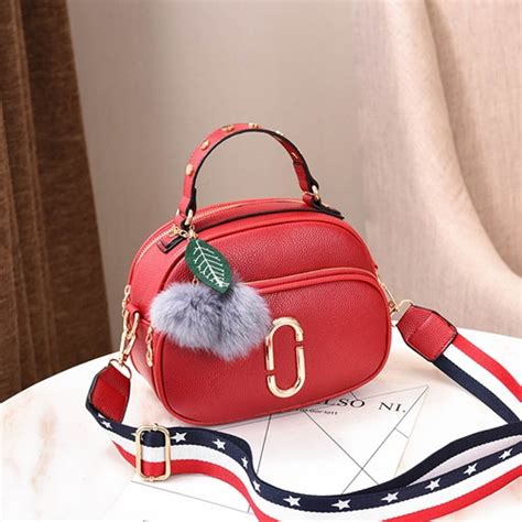 Cs 1084 Supplier Tas Fashion Wanita Import Korea Cina Batam Murah Jual B77955 Tas Pom Pom Fashion Korea Grosirimpor