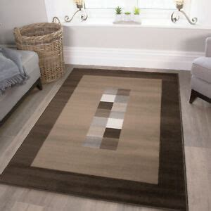 brown geometric bordered living room rugs cheap small