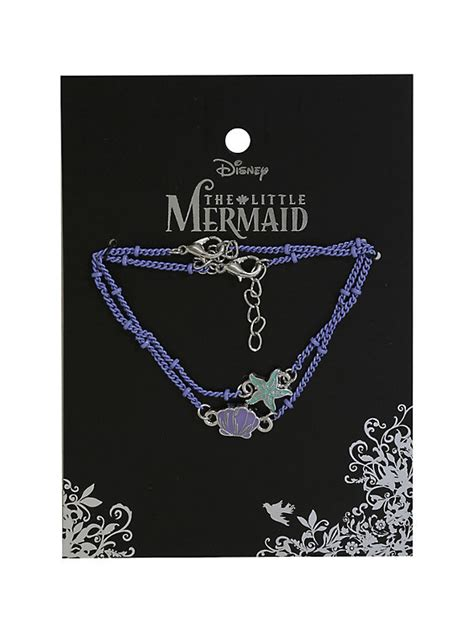 Mermaid Half Pack 30 X 30 Cm disney the mermaid shell and starfish bracelet 2 pack topic