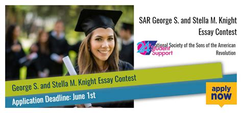 American Sweepstakes Advisor - sar george s and stella m knight essay contest 2017 2018 usascholarships com