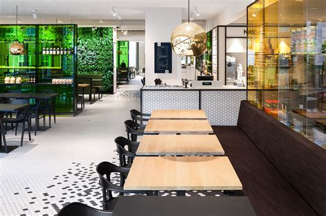 design cafe utrecht de bijenkorf restaurant by i29 interior architects on behance