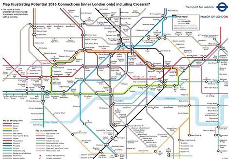 underground rail map crossrail map