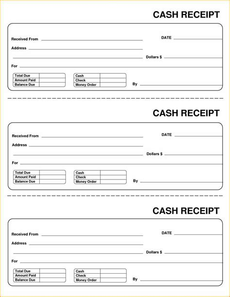 create receipt templates a receipt using template sles