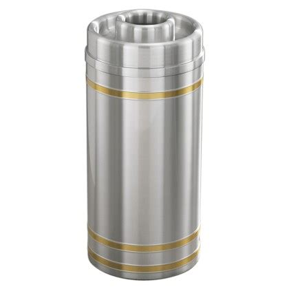 Capry Maxy 2 ash trash combo can with donut top trash cans