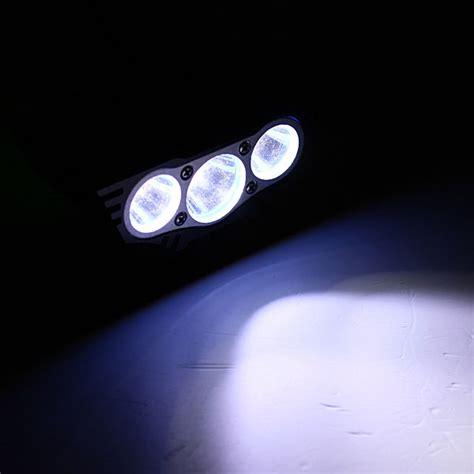 Headl Lu Kepala Dengan 2 Led buy 6000lm 3xcree xm l u2 led bike front light headl headlight bazaargadgets