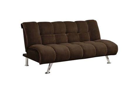 plush futon casia plush tufted corduroy futon in chocolate at gardner