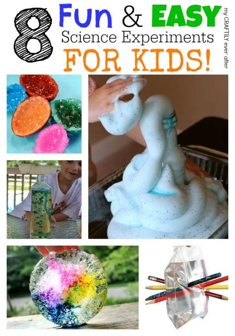 easy science crafts for 25 best kinder readiness images on