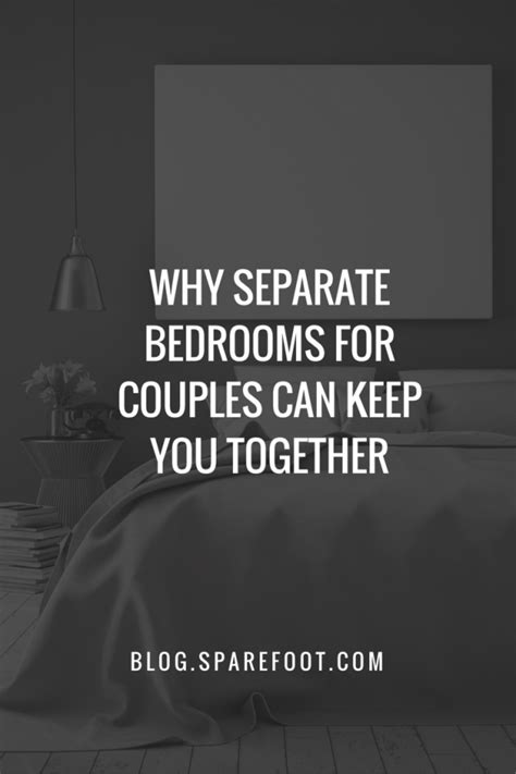 separate bedrooms married why separate bedrooms for couples can keep you together