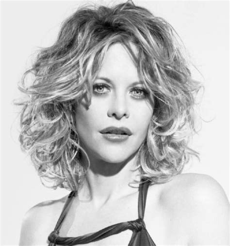 shpulfer length haircuts with directions medium length naturally curly hairstyles meg ryan with