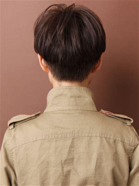 back short hair shots ヨーロピアンマッシュ ショート ビューティーboxヘアカタログ