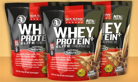 Six Pack Whey Protein 3 pack of six whey protein groupon goods