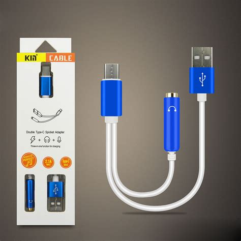 wholesale short type  usb charging cable  mm jack