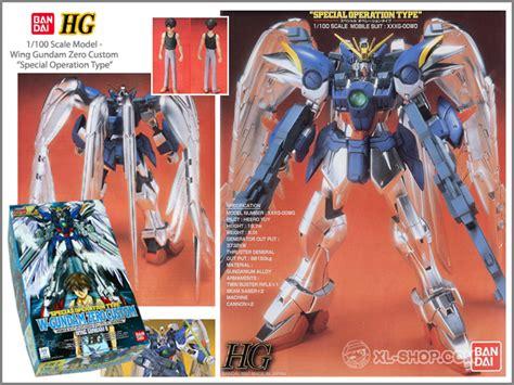 Hg Wing Zero Custom Bandai bandai hg 1 100 wing gundam zero custom special