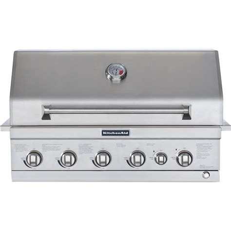 Kitchenaid Outdoor Grills by Kitchenaid 36 Inch Propane Gas Built In Grill With Searing