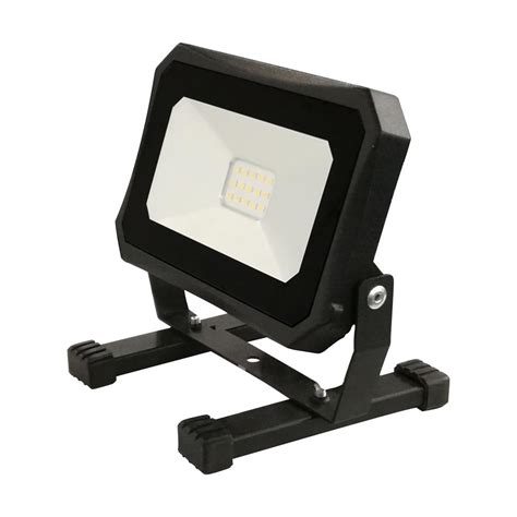 commercial electric work light commercial electric 1000 lumen 4000k portable led work