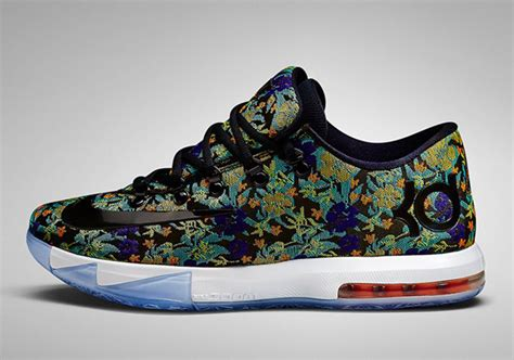 flower pattern kd 6 nike kd 6 ext quot floral quot nikestore release info