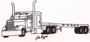 semi truck coloring pages semi trucks coloring pages printable cooloring