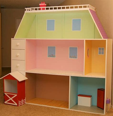 18 doll house 6 x6 dollhouse we made for our daughter s 18 quot dolls my