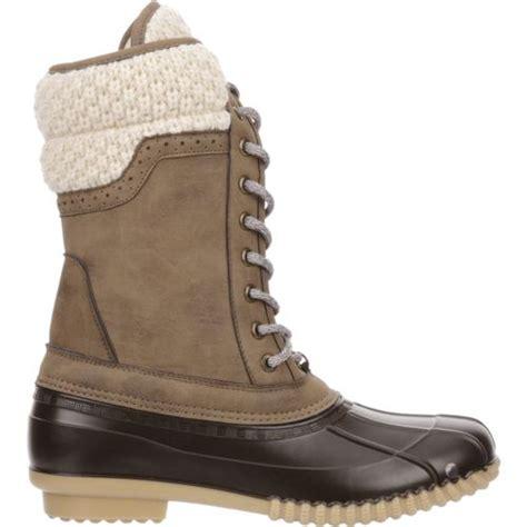 academy duck boots magellan outdoors s sweater collar duck boots academy