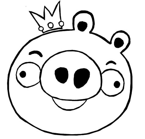 Coloring Page Of A Pig Az Coloring Pages Angry Birds Pigs Coloring Pages