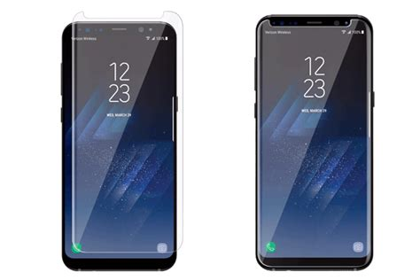 Samsung Screen Protector For Galaxy S8 Plus Transparant Clear keep your galaxy s8 and s8 plus clear and smudge free with a screen protector