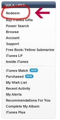 Itunes Gift Card Promotion Code - how to redeem an itunes gift card
