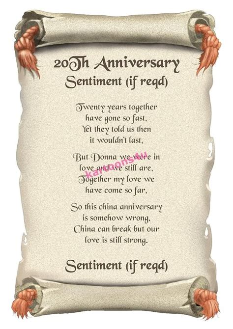 20th year wedding anniversary quotes quotesgram