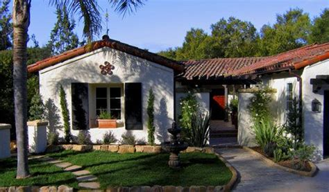 santa barbara style house plans santa barbara spanish revival spanish pinterest