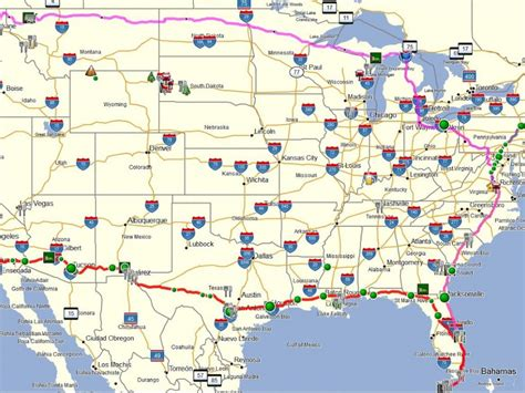 map usa roads detailed us road map roads highways 4 of usa for