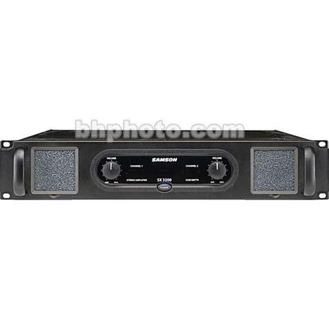 Samson Sx3200 Sx 3200 Sx 3200 Power Lifier Garansi Resmi samson sx3200 2 channel rack mount power lifier sasx3200